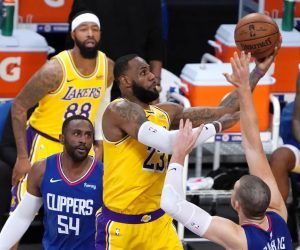LA Lakers Clippers 10 Wins Good Teams NBA Los Angeles