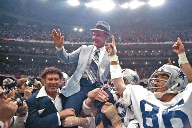 Tom Landry Dallas Cowboys coach