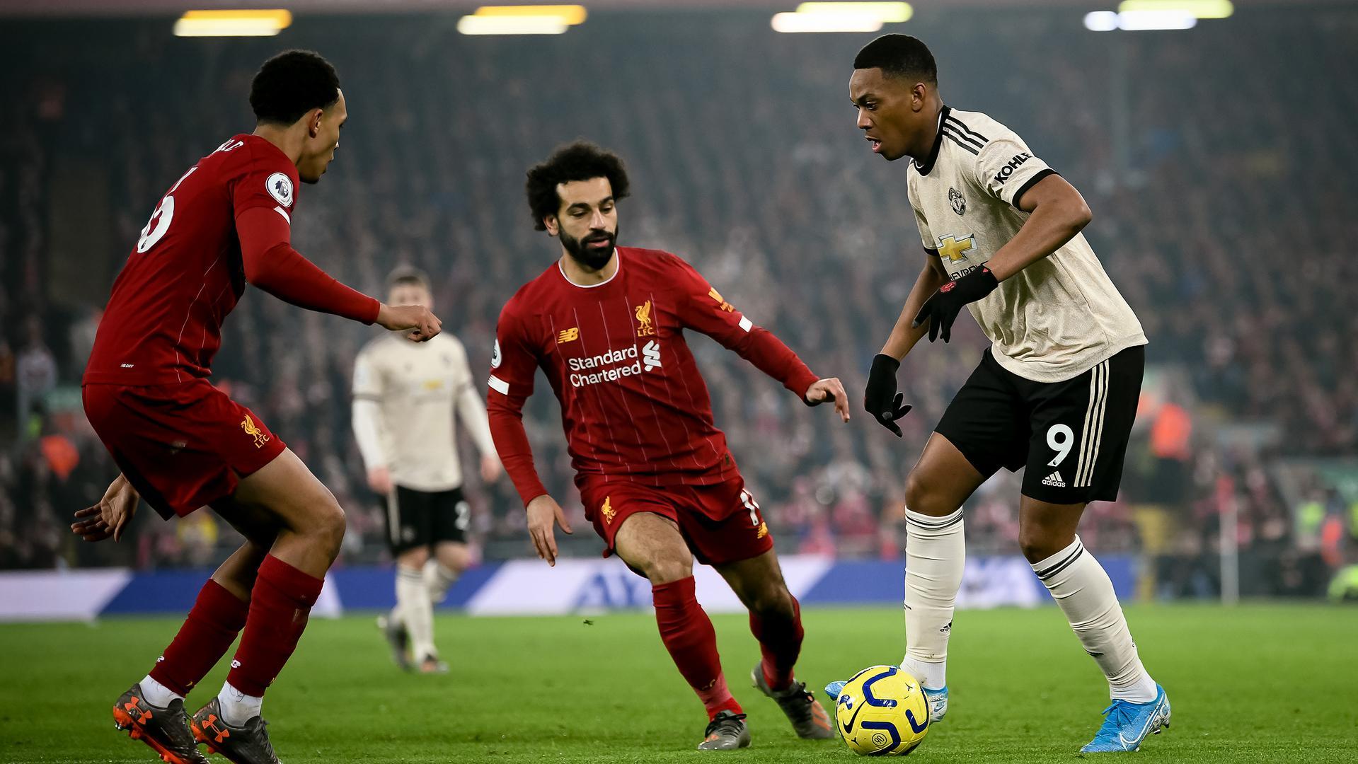 Liverpool Man United odds