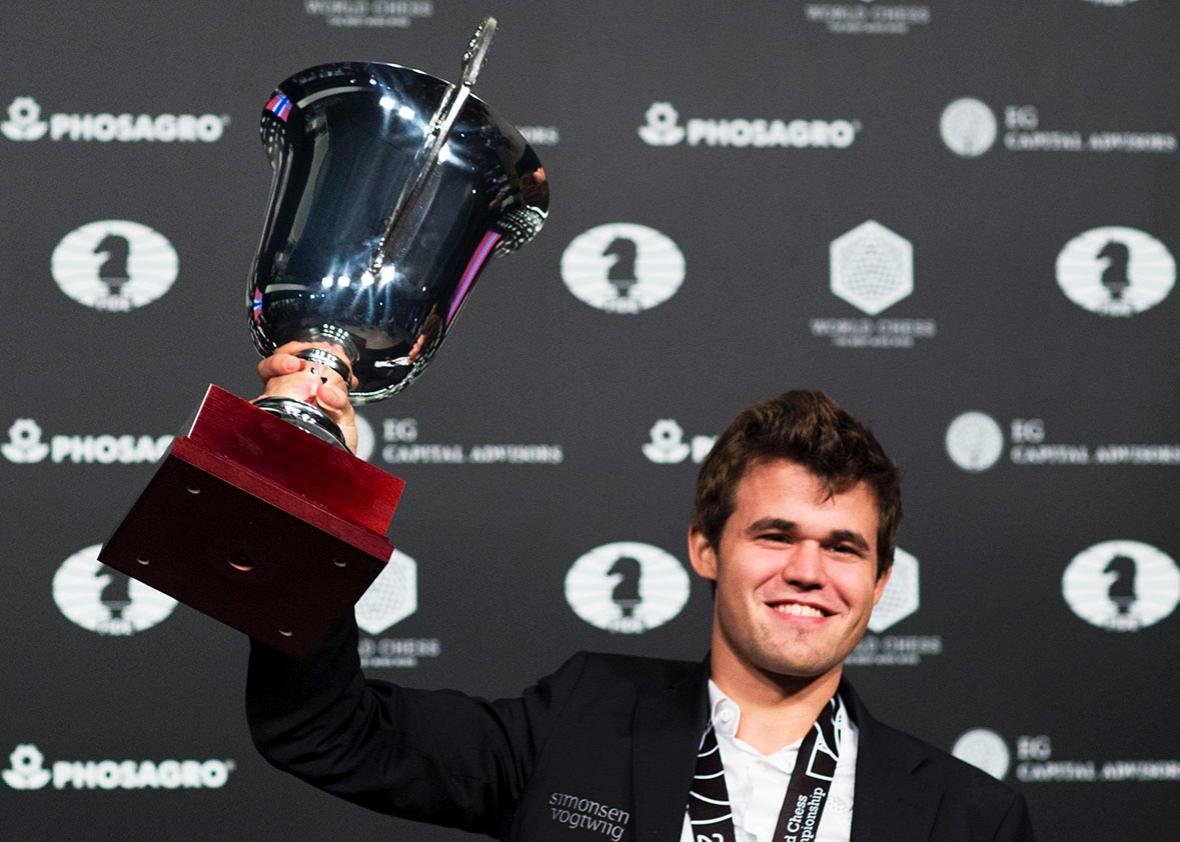 Juara Catur Dunia Magnus Carlsen