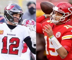 Tom Brady Patrick Mahomes Super Bowl 55 Prop Bets Passing TDs