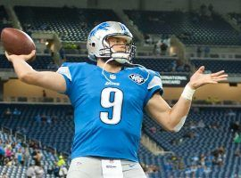 Matthew Stafford played his final game with the Detroit Lions, who are looking to trade the quarterback to a potential Super Bowl contender. (Image: Tim Fuller/USA Today Sports)