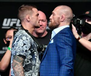 McGregor Poirier Odds UFC 257