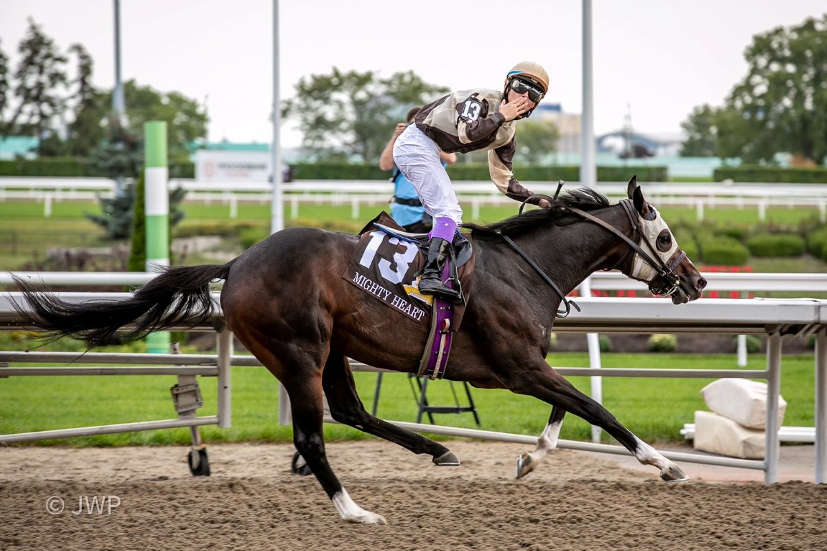 Mighty Heart-Queen's Plate 2021 Date