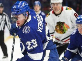 The Tampa Bay Lightning will host the Chicago Blackhawks in one of five games on NHL Opening Day. (Image: Dirk Shadd/Tampa Bay Times)