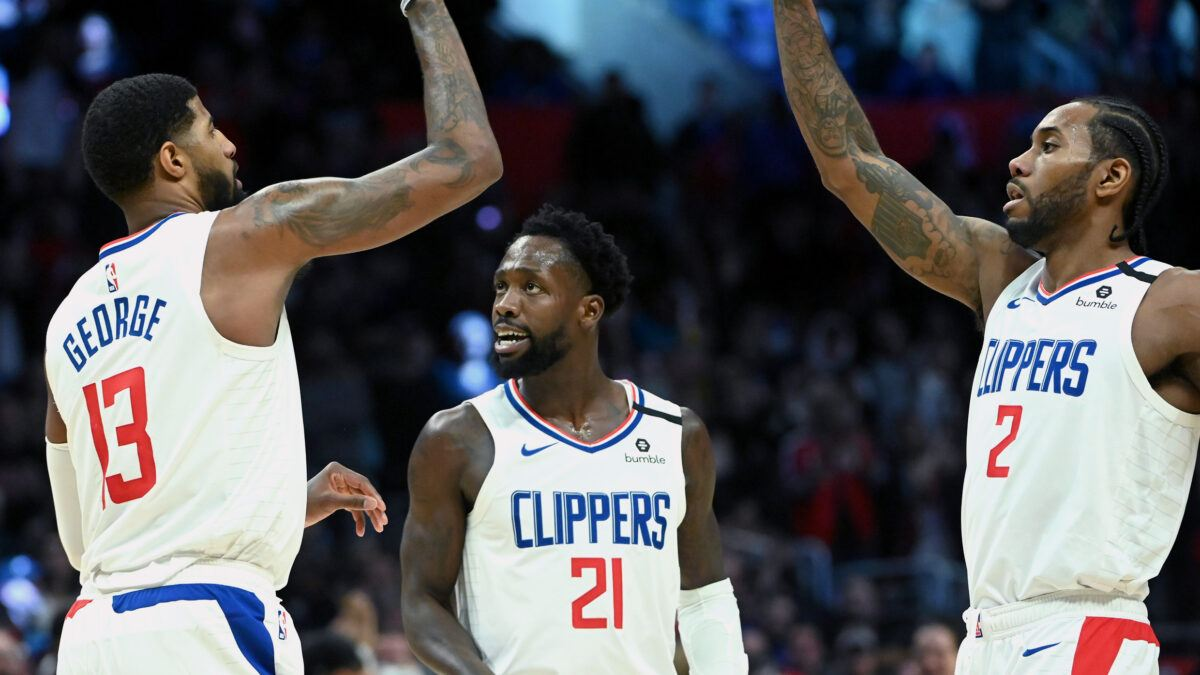 LA Clippers Kawhi Leonard Paul George COVID-19 Out Safety