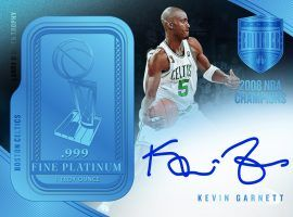 Here's the $50,000 box of basketball cards containing platinum bars you never knew you needed. (Image: Panini)