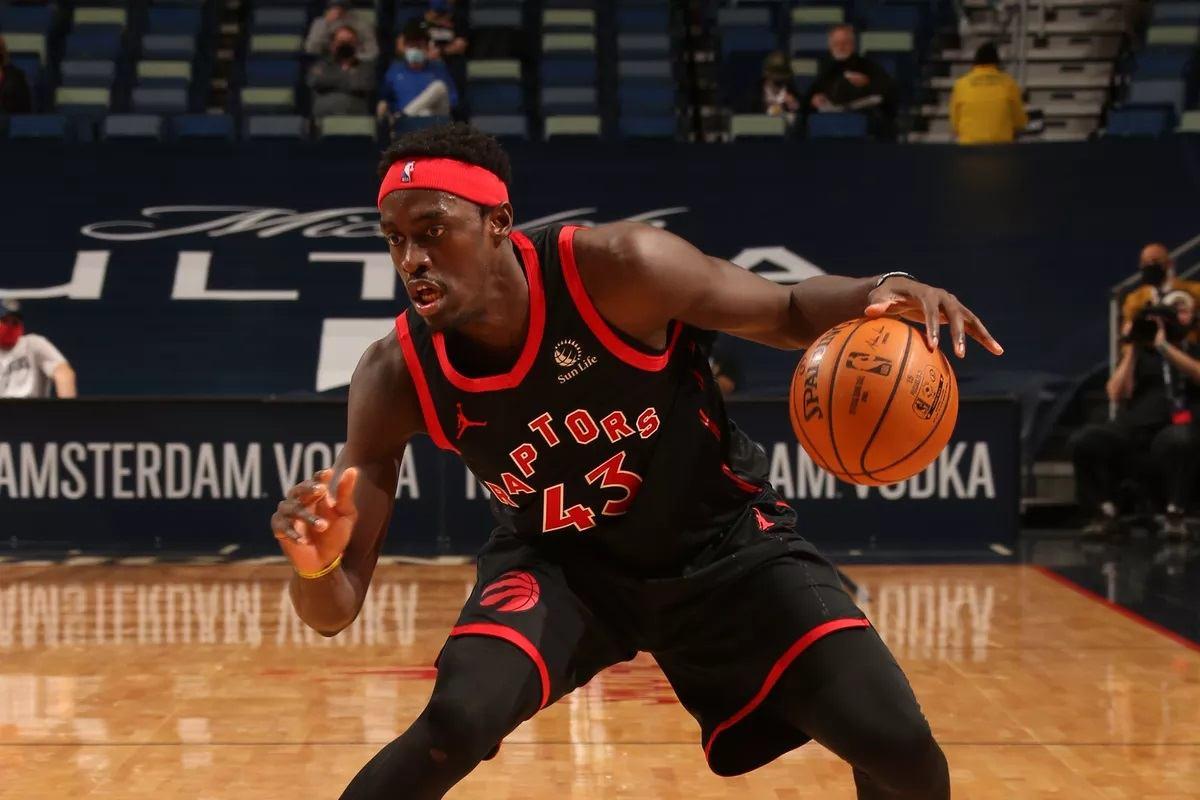 Detroit Pistons Toronto Raptors Mulai Buruk NBA Pascal Siakim