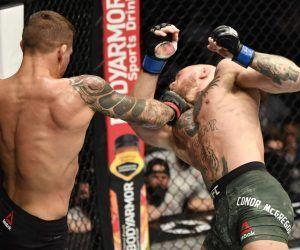 UFC lightweight title Poirier Chandler