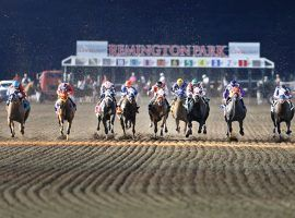 While many of the country's biggest tracks fell short of their 2019 handles, Remington Park in Oklahoma watched its handle hit nine figures for the first time in the track's 32-year history. (Image: Remington Park)