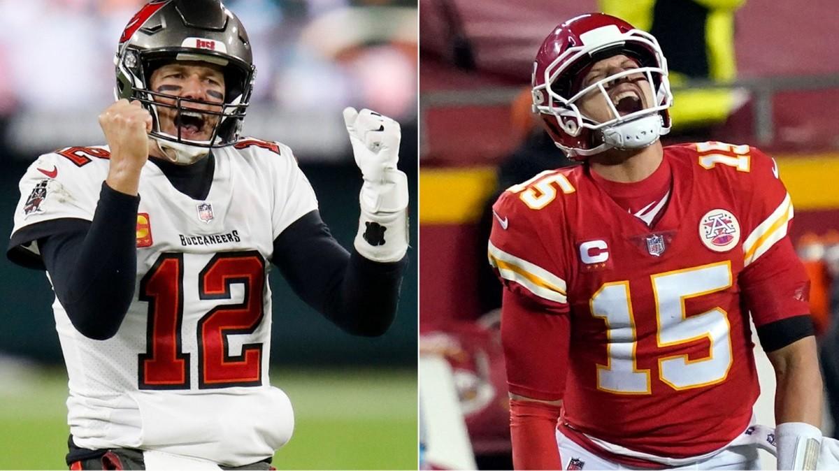 Super Bowl big bets $2.3 $2 million Tampa Bay Bucs Kansas City Chiefs BetMGM