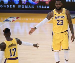 LeBron James LA Lakers NBA Championship Odds Brooklyn Nets Clippers Milwaukee Bucks