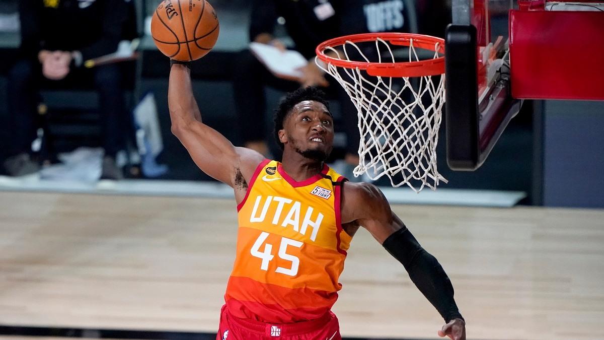 Kemenangan beruntun Utah Jazz, Donovan Mitchell