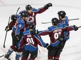 The Colorado Avalanche open the season as the favorite to win the 2021 Stanley Cup at all major sportsbooks. (Image: Jason Franson/AP)