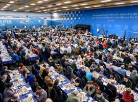 The Tata Steel Chess Tournament won't feature the same festival atmosphere in 2021, but top grandmasters will still compete in the Masters section. (Image: Tata Steel Chess Tournament)
