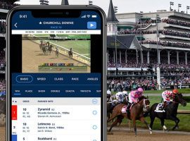 Churchill Downs Inc.'s TwinSpires ADW app is one of the most popular among horseplayers. The company hopes its popularity will rub off on its newly branded TwinSpires sportsbook wagering platforms. (Image: Churchill Downs Inc.)