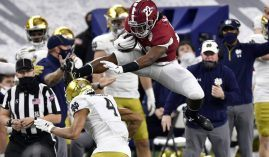 The College Football National Championship game on Monday features Alabama and Ohio State, both of whom have potent offenses. (Image: USA Today Sports)