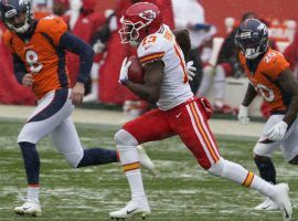 Kansas City Chiefs' Byron Pringle ran a kickoff back for a touchdown on Oct. 25. The (Image: Jack Dempsey /AP)