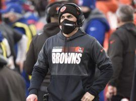 Cleveland Browns head coach Kevin Stefanski tested positive for COVID-19 and will not be on the sidelines for the team's Wild Card game against Pittsburgh on Sunday. (Image: AP)
