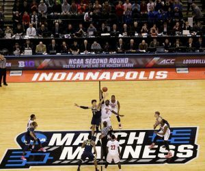 """The NCAA is set to announce Monday that March Madness will take place in a """"bubble"""" format with Indianapolis as the host city. College athletics' governing body has come under scrutiny this season for being conspicuously absent from any COVID-19 related policy or enforcement leaving decisions to individual conferences and programs. (Image: AP)"""