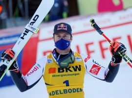 Post-Victory Hangover Hadn't Set in as Alexis Pinturault Skis to Back-to-Back Giant Slalom Wins in Adelboden