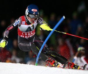 Mikaela Shiffrin is putting a pause on her season's pause and returning to a friendly course as she appears on the start list for the Flachau slalom Tuesday night under the lights. With a podium finish, Shiffrin would notch number 100 of her storied World Cup career. (Image; Getty)
