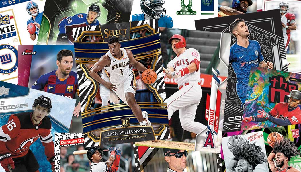 Sports Cards Collage