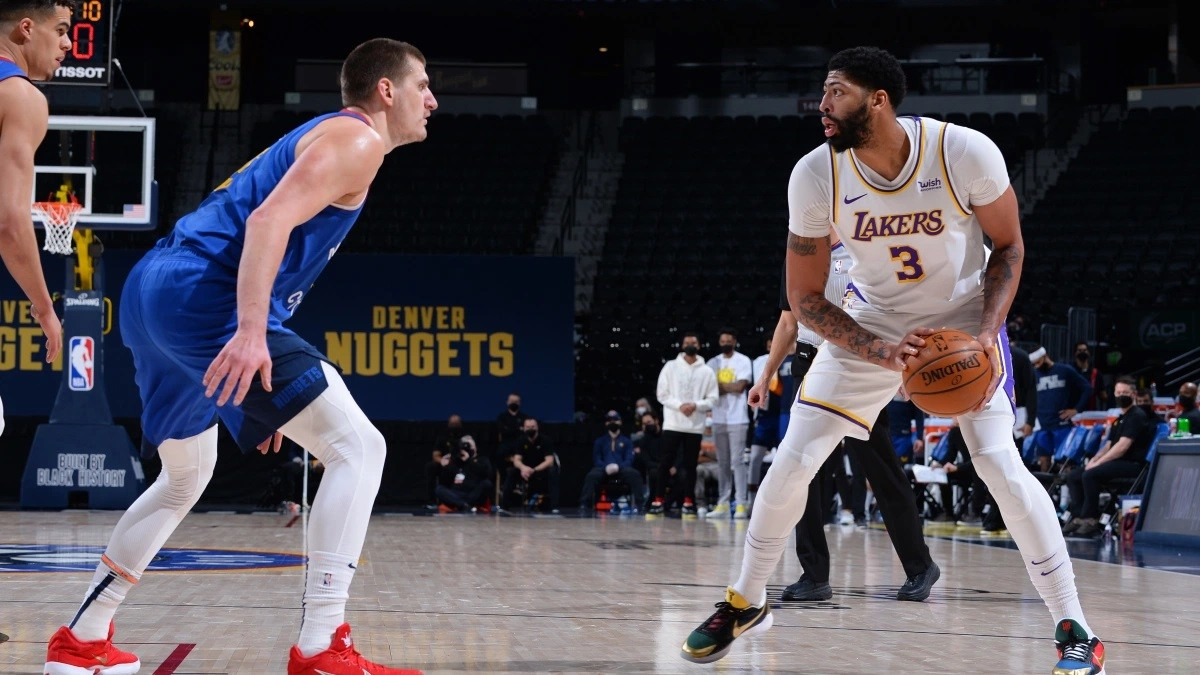 Anthony Davis calf injury LA Lakers out