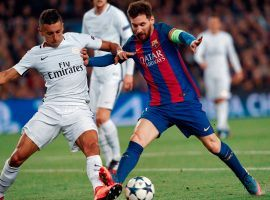 Barcelona will host Paris Saint-Germain in one of two Champions League Round of 16 matches on Tuesday. (Image: Lluis Gene/AFP/Getty)