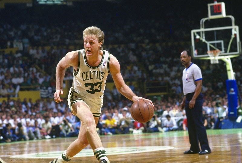 Larry Bird Boston Celtics Legend