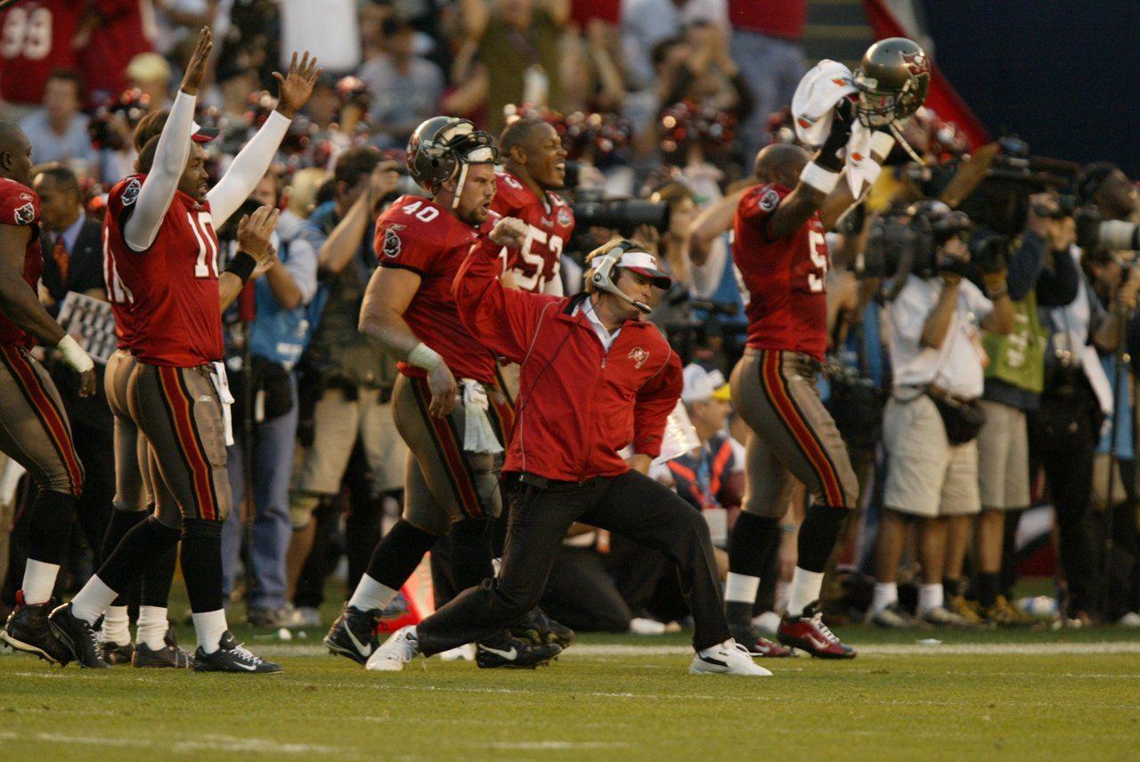 Tampa Bay Bucs Buccaneers History Super Bowl 2002 Jon Gruden