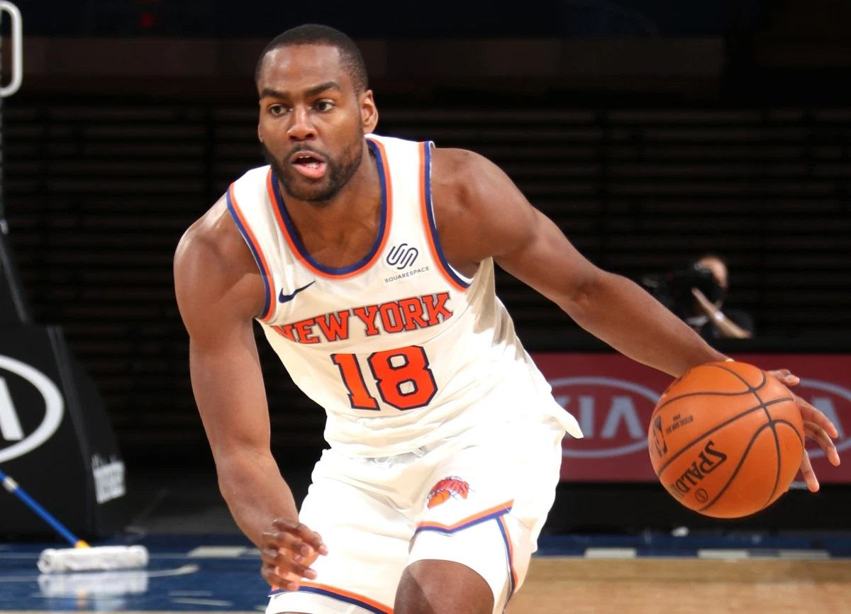 Alec Burks New York Knicks NY trade LA Lakers Sixers Magic Cavs