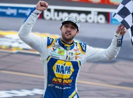 Chase Elliott will look to start strong in the Busch Clash at Daytona after winning the NASCAR Cup Series title in 2020. (Image: Mark J. Rebilas/USA Today Sports)