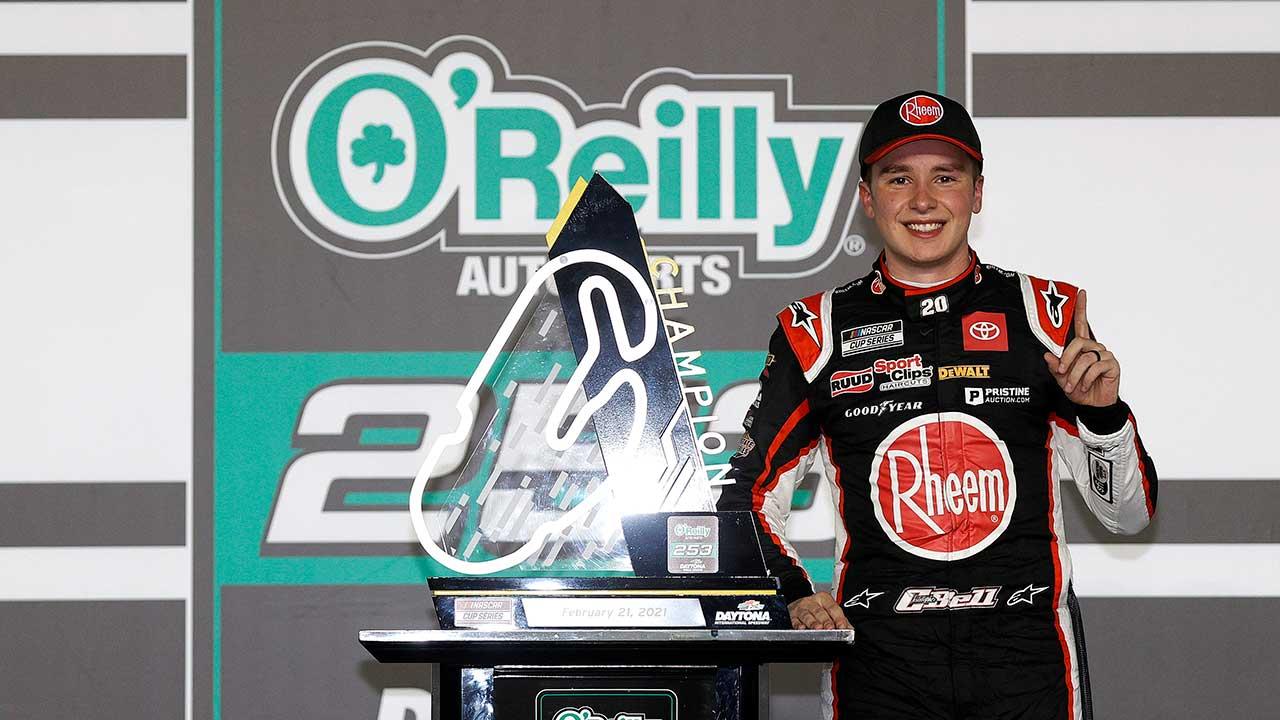 Christopher Bell NASCAR Daytona