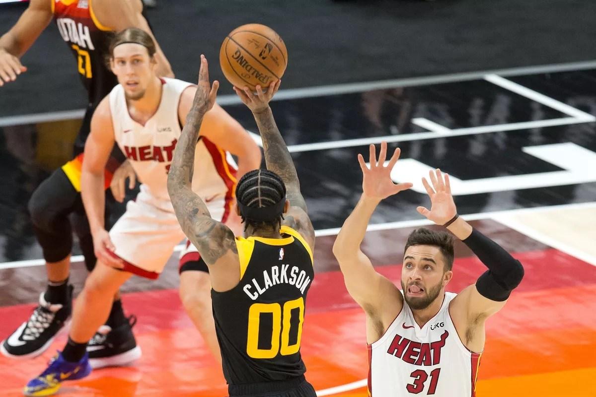 Utah Jazz winning streak ATS against the spread Jordan Clarkson LA Clippers