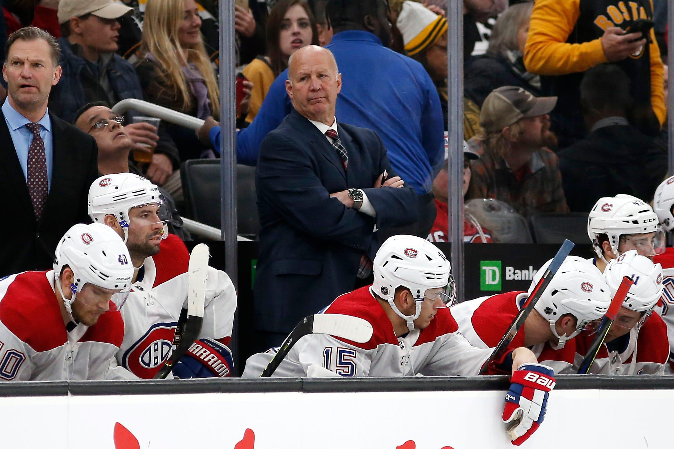 Claude Julien Montreal Canadiens
