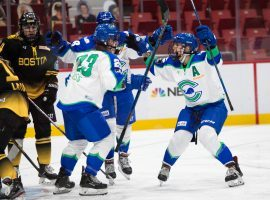 The Connecticut Whale withdraw from the NWHL bubble, leaving only four teams competing for the Isobel Cup. (Image: Michelle Jay)
