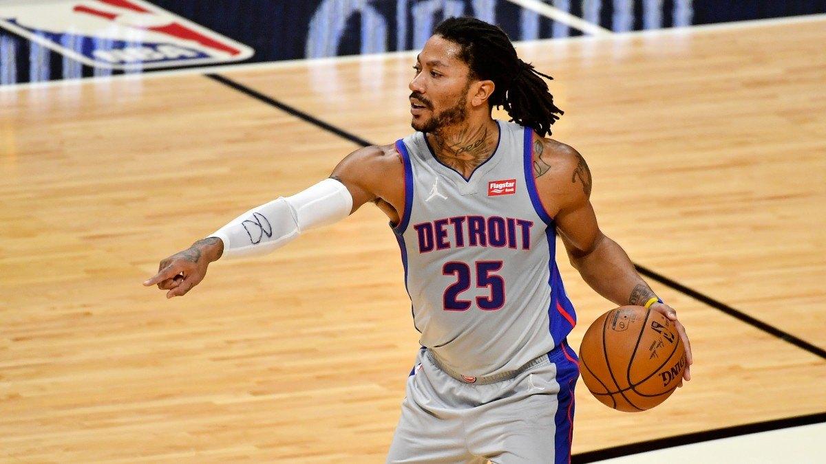 NY Knicks Trade Detroit Pistons D-Rose Derrick Rose Dennis Smith