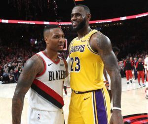 NBA Weekend Betting Preview Damian Lillard LeBron James Portland Trail Blazers LA Lakers Clippers Bucks
