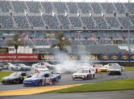 The NASCAR Cup Series moves to the Daytona road course on Sunday for the O'Reilly Auto Parts 253. (Image: Nigel Cook/Daytona Beach News-Journal)