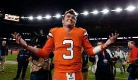Will Drew Lock retain his job as starting quarterback of the Denver Broncos, or will someone else lead the Broncos into battle in 2021? (Image: Isaiah J. Downing/USA Today Sports)