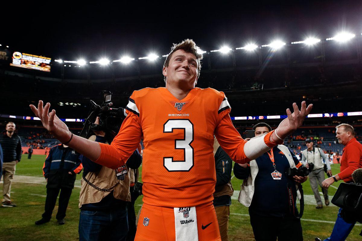 Denver Broncos Drew Lock QB Prop Taruhan Gelandang awal Sam Darnold Deshaun Watson