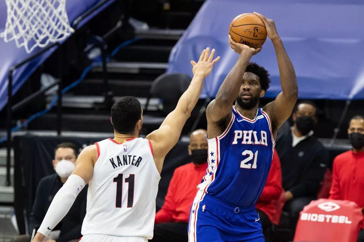 Joel Embiid Philadelphia 76ers Tiers NBA Elite Teams Good Bad Break-Even