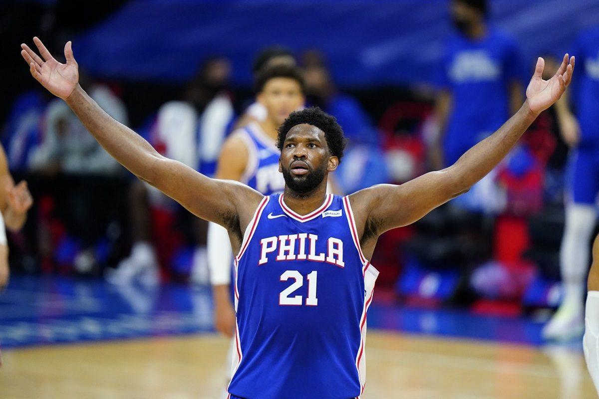 Joel Embiid 50 points Philadelphia 76ers Philly Sixers