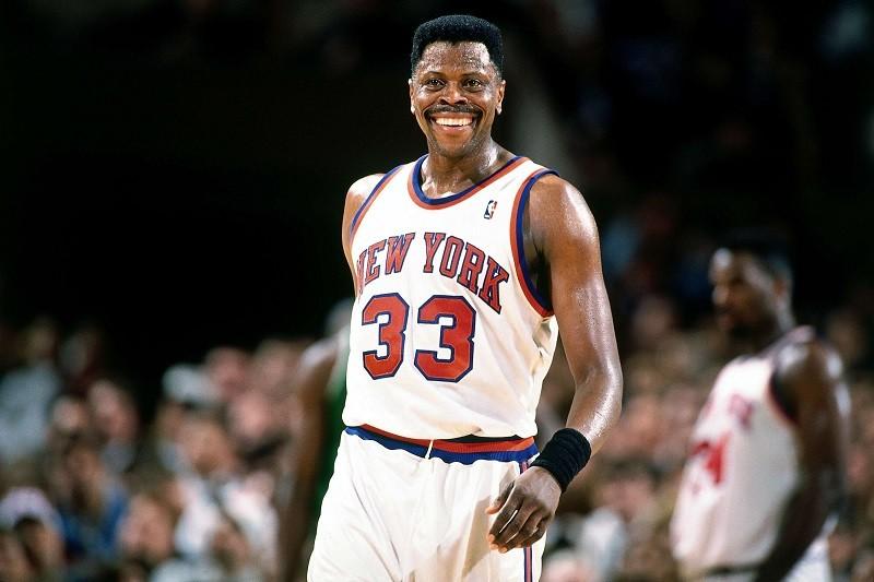 Patrick Ewing NY Knicks 1990s