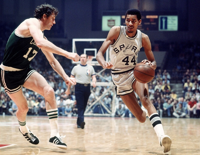 Ice Man George Gervin San Antonio Spurs ABA