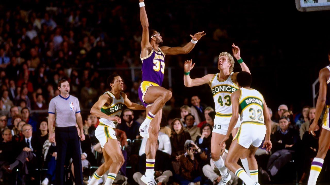 Kareem Abdul-Jabbar NBA All-time scorer scoring points LA Lakers