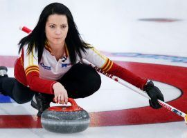 Kerri Einarson and Team Canada beat Alberta and Laura Walker to reach the 2021 Scotties final, where they will face Rachel Homan for the second straight year. (Image: Jeff McIntosh/Canadian Press)