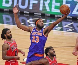 Knicks Robinson Mitchell Injury Out Nerlens Noel Taj Gibson
