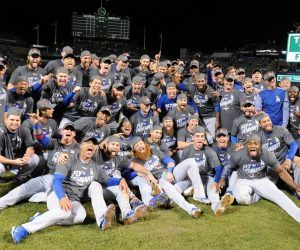 Los Angeles LA Dodgers WIn Totals Total MLB World Series Hangover